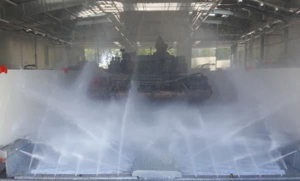 7013 instalatie de spalat vehicule militare mobydick
