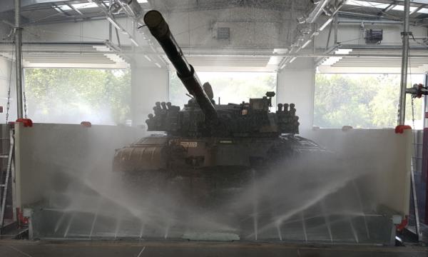 7014 instalatie de spalat vehicule militare mobydick