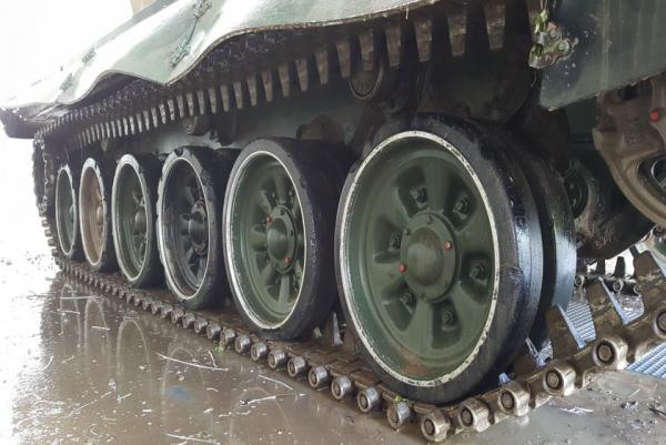 7015 instalatie de spalat vehicule militare mobydick