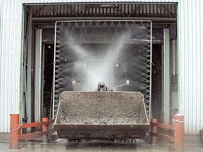 7025 instalatie de spalat utilaje pentru constructii mobydick