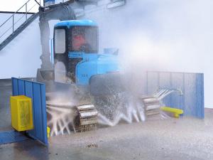 instalatie eliminare noroi buldozer